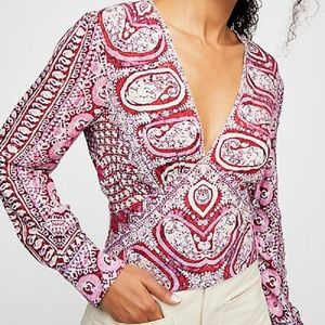 Free People NWT Wild And Free Top LG